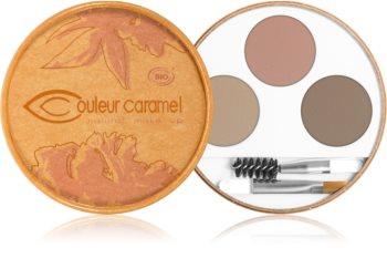 Couleur Caramel Eyebrow Kit paleta pro líčení obočí