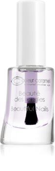 Couleur Caramel Beautiful Nails vyhladzujúci podkladový lak na nechty so spevňujúcim účinkom