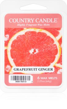 Country Candle Grapefruit Ginger cera per lampada aromatica