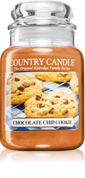Country Candle Chocolate Chip Cookie illatos gyertya