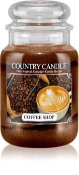 Country Candle Coffee Shop vela perfumada