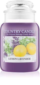 Country Candle Lemon Lavender lumânare parfumată