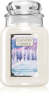 Country Candle Mountain Sunrise lumânare parfumată