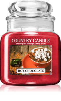 Country Candle Hot Chocolate ароматна свещ