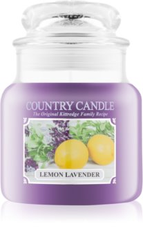 Country Candle Lemon Lavender scented candle