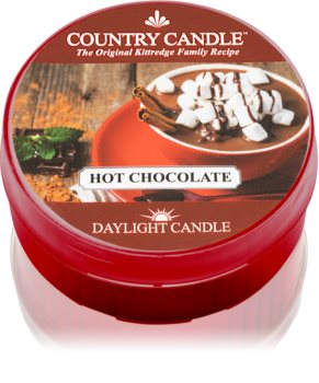Country Candle Hot Chocolate tealight candle