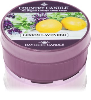 Country Candle Lemon Lavender tealight candle