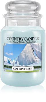 Country Candle Cotton Fresh lumânare parfumată