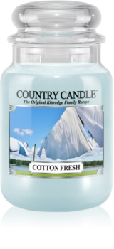 Country Candle Cotton Fresh vonná sviečka
