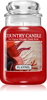 Country Candle Flannel Duftkerze