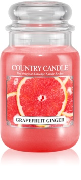 Country Candle Grapefruit Ginger Tuoksukynttilä