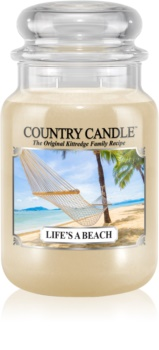 Country Candle Life's a Beach dišeča sveča