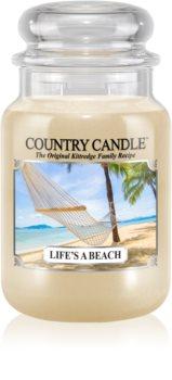 Country Candle Life's a Beach Tuoksukynttilä