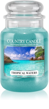 Country Candle Tropical Waters scented candle