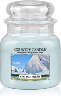 Country Candle Cotton Fresh scented candle