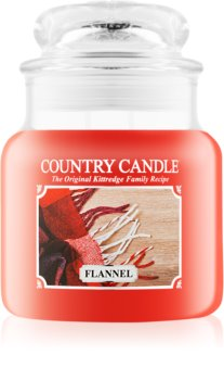 Country Candle Flannel bougie parfumée