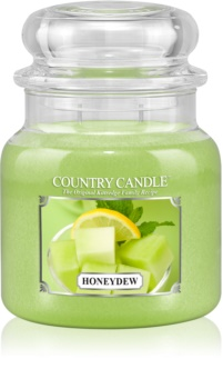 Country Candle Honey Dew scented candle