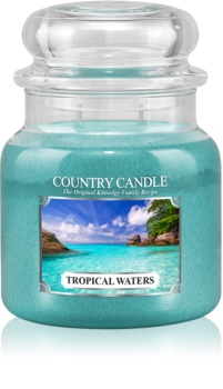 Country Candle Tropical Waters illatos gyertya