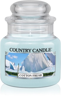 Country Candle Cotton Fresh duftlys
