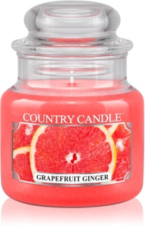 Country Candle Grapefruit Ginger candela profumata