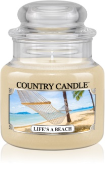 Country Candle Life's a Beach scented candle
