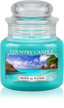 Country Candle Tropical Waters dišeča sveča