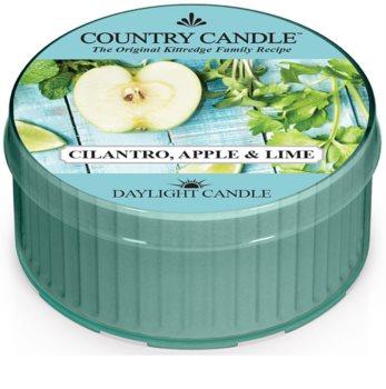 Country Candle Cilantro, Apple & Lime čajna sveča
