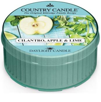 Country Candle Cilantro, Apple & Lime świeczka typu tealight