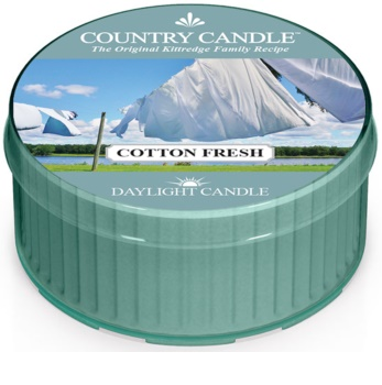 Country Candle Cotton Fresh teamécses