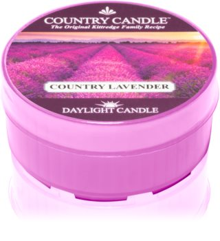 Country Candle Country Lavender bougie chauffe-plat