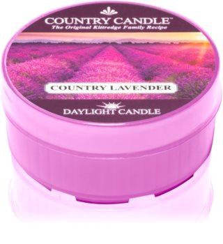 Country Candle Country Lavender čajová svíčka