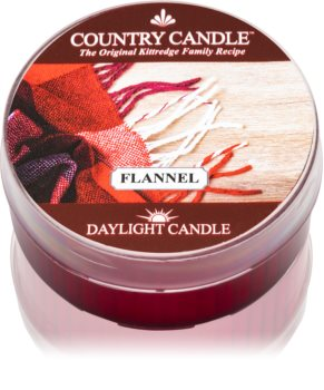 Country Candle Flannel tealight candle