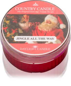 Country Candle Jingle All The Way čajna svijeća