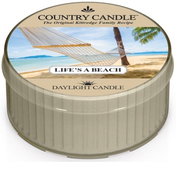 Country Candle Life's a Beach duft-teelicht