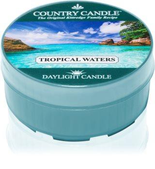 Country Candle Tropical Waters čajna svijeća