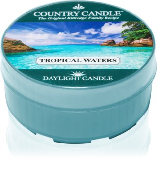 Country Candle Tropical Waters duft-teelicht