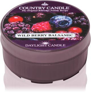 Country Candle Wild Berry Balsamic tealight candle