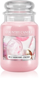 Country Candle Blushberry Frosé illatos gyertya