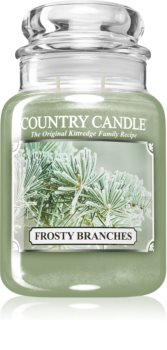 Country Candle Frosty Branches αρωματικό κερί