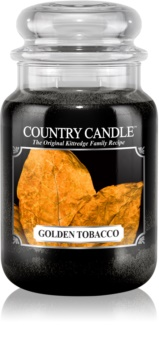 Country Candle Golden Tobacco bougie parfumée