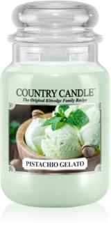 Country Candle Pistachio Gelato illatos gyertya
