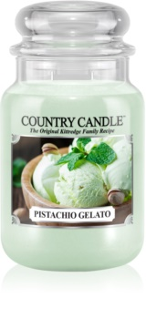 Country Candle Pistachio Gelato vela perfumada