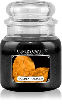 Country Candle Golden Tobacco illatos gyertya