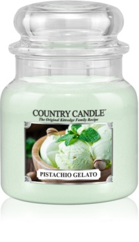 Country Candle Pistachio Gelato scented candle