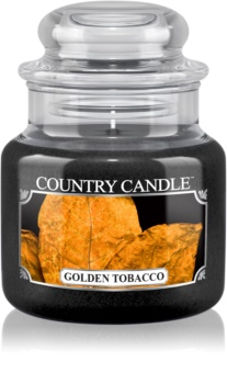 Country Candle Golden Tobacco scented candle
