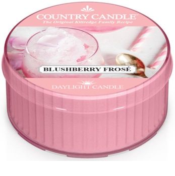 Country Candle Blushberry Frosé tealight candle