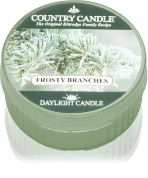 Country Candle Frosty Branches duft-teelicht