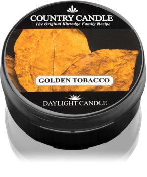 Country Candle Golden Tobacco čajna svijeća