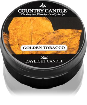 Country Candle Golden Tobacco duft-teelicht