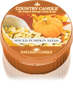 Country Candle Spiced pumpkin Seeds tealight candle